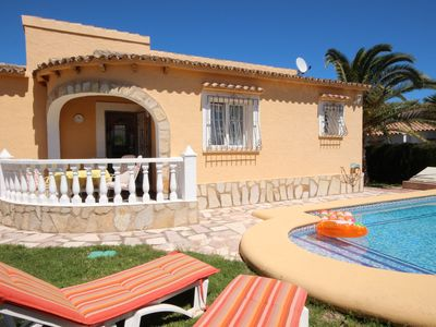 Photo for A few minutes from the beach of Els Poblets is our 2 bedroom villa