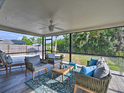 Photo for NEW! Chic Beach House with Lanai and Private Yard!