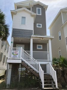 Photo for Beach Front 3BR/3.5BA Pet Friendly! Private Boardwalk right out your door!!