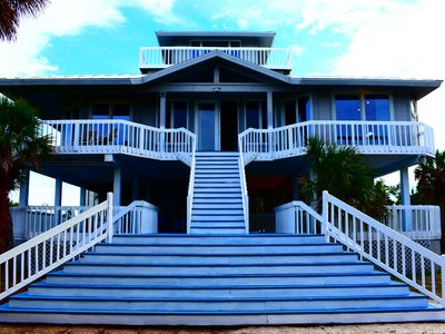 Photo for Beautiful Pool Home Walking distance to BEACH