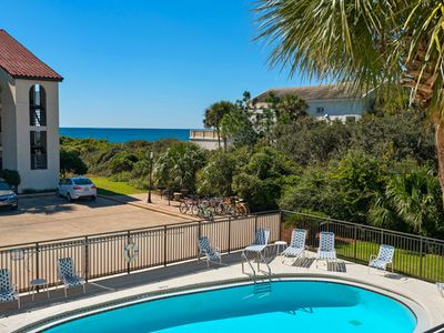 Photo for Awesome Gulf Views ~ Close to Famous Seaside, Fl ~ Nice Gulf Front Complex!