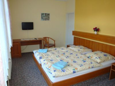 Photo for Double room 4 - Holiday apartment u. Room Goldschmidt