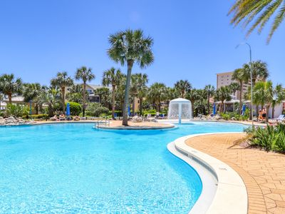 Photo for Spacious condo w/ amazing views, shared pools, & easy beach access