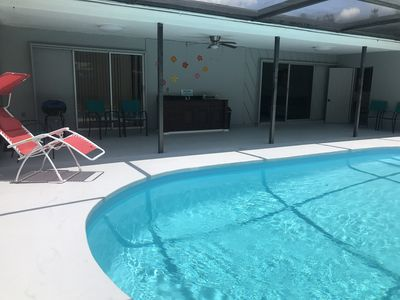 Photo for Siesta key home with private pool and game room