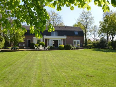 Photo for Very spacious country house with outdoor swimming pool, terrace and large garden