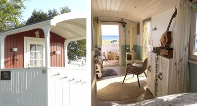 "Photo for ""Tiny House"" with sea view, Baltic Sea at Kappeln, glamping, ecological trips"