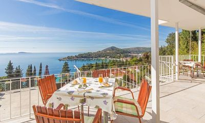 Photo for Two bedroom apartment with terrace and sea view Mlini (Dubrovnik)