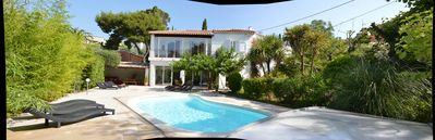 Photo for Cassis Villa for 12 people, with pool, 5 min away from the village and the beach