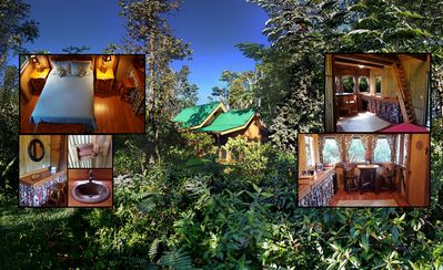 Photo for Private Luxurious Cabins-Rustic Decor On 4 Acres W/Pool, Exterior BBQ Kitchen #2