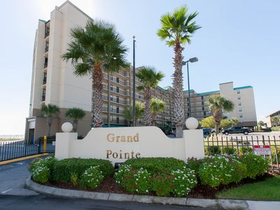 Enter the complex for a fantastic beach stay.  Enjoy our beautiful condo!
