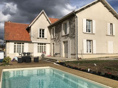 "Photo for Room ""Cap Ferret"" 2 people in the heart of the vineyards and pool view"