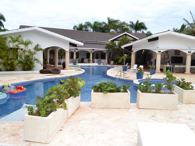 Photo for 8BR Villa Vacation Rental in La Romana, Casa De Campo