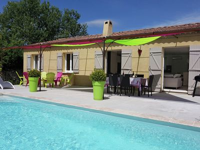 Photo for Chic Villa Near Village in Lirac France with Private Pool