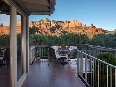 Photo for Upscale Property❤️180° Panoramic Red Rock Mountain Views❤️Tranquil & Elegant