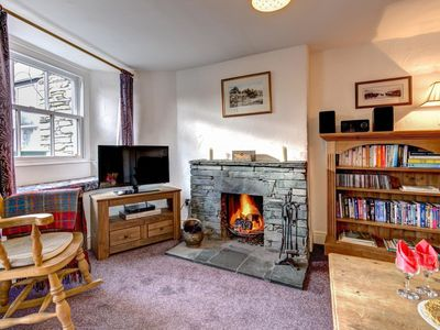 Photo for Cosy holiday home with garden and private parking, overlooking Grasmere Lake.