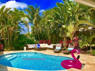 CASA COCONUT***Walk to BEACH & Lauderdale-By-The-Sea! Resort Style Home!