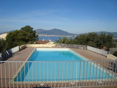 Photo for PORTICCIO - Beautiful apartment in residence with pool and tennis F2-157