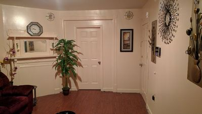 access can be granted to our living room in the common areas