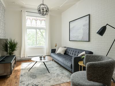 Photo for 4BR Apartment Vacation Rental in Montréal, QC