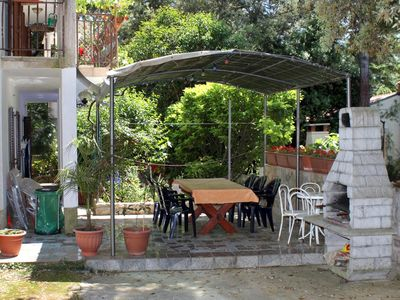 Photo for Two bedroom apartment with terrace Artatore (Lošinj)