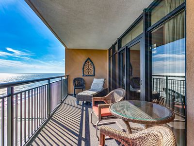 Photo for Luxury Oceanfront 3 Bedroom / 3 Bath available by Luxury Beach Rentals!