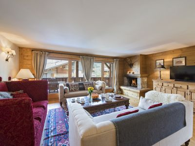 Photo for Verbier - Luxury Catered Chalet Plein Soleil