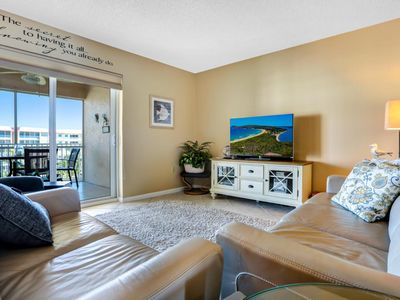 Photo for 5 star remodeled condo, steps from the beach, ocean view from all rooms