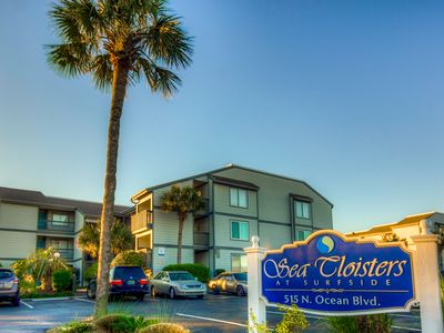 Photo for Beachfront Condo! All Updated! Linens Included!  Wi-fi & 2 Car Reserved Parkin