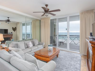 Photo for Great Beach Condo Boasting Gorgeous Views of the Gulf ~ Gated Community with Pool!