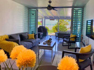 Photo for Beautiful Totally Remodeled Beachfront Villa