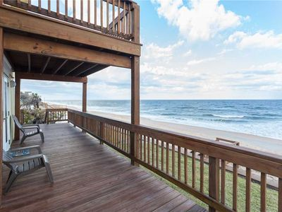 Photo for Napping Turtle, 3 Bedrooms, Ocean Front,  Sleeps 9, Wireless Internet