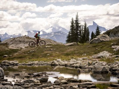 Photo for Biking! Something for everyone with easy access to the bike park from the house!