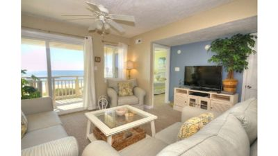 Photo for Beautifully Decorated Oceanfront 3 BA/2 BA Caswell Beach Condo w/ Pool-Sleeps 6