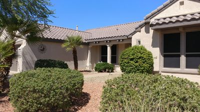 Photo for Sun City Grand Home Borders Common Area - No Backyard Neighbors!  Pet Considered