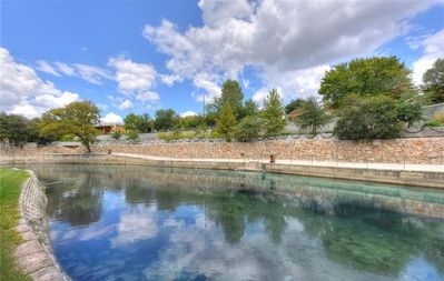 Photo for Comal River Condo 353- Sits right on the Comal River!