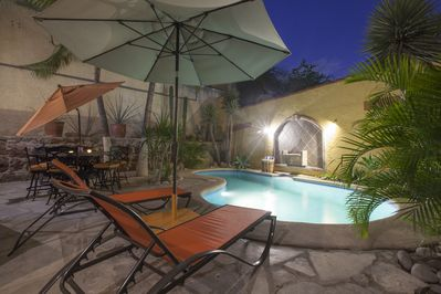 You'll have plenty of privacy even though the house is steps from the Malecón.