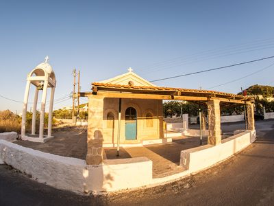 Photo for Vagia Beach Apartments. Secluded Gateway over the Beach.