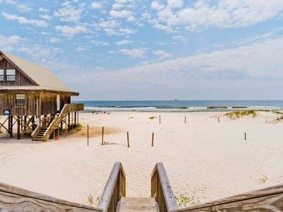 Photo for Pet Friendly, Community Pool, Beachfront, & Quick online booking for activities!!