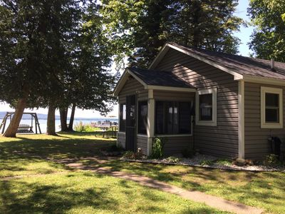 Photo for Platte Lake Waterfront Cottage!