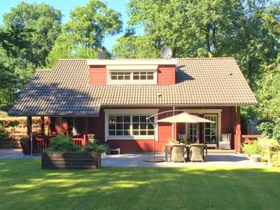 Photo for Finnhouse on the edge of the forest with covered terrace near the Hoge Veluwe