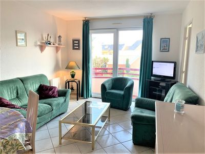 Photo for 3 star apartment, free WIFI, near Trestraou beach PERROS-GUIREC