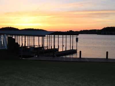 Photo for Summer dates going fast!!  Luxury Lake Front Condo on Lake Hamilton!  Book now!!