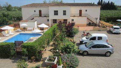 Photo for Mas Julià Apartments (D), swimming pool, wifi, parking, garden, terrace, grill