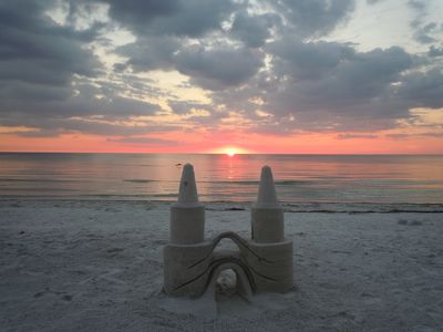 Photo for Island Gulf Front, Sunset, Luxury Condo, Wi-Fi