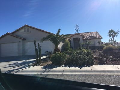 Photo for Beautiful Single Story Home less than 5 Minutes from Colorado River and Laughlin