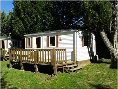 Photo for Camping Les Jardins d'Estavar *** - Mobile home 3 Rooms 4 People