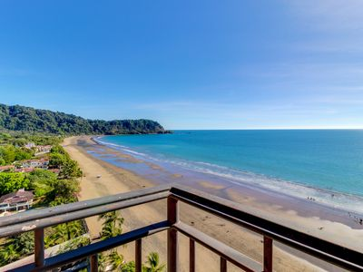 Photo for Two luxury oceanfront condos w/ shared pool & ocean views - walk to beach!