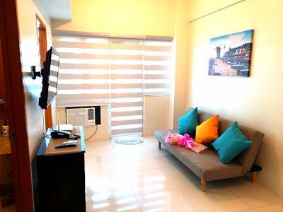 Photo for New Condo Unit in BGC good for 6 pax, Uptown Mall, Free wifi, cable TV