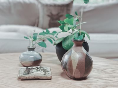 We love plants and handmade pottery!