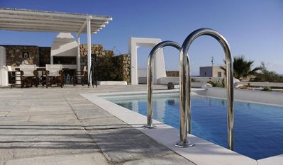Photo for House Kiro Santorini, 2 BR 2 Ensuite BA, (4 TO 6 PERSONS), Private Pool, Jaccuzi Outdoor BBQ, offers a true feeling of Nature and Serenity
